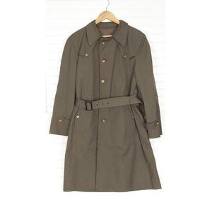 Christian Dior Monsieur Wool Lined Trench Coat